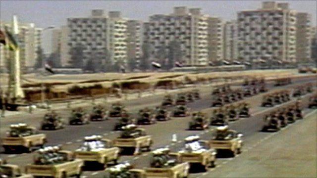 Egyptian military parade