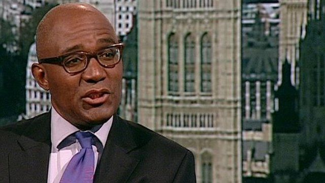 The Chair of the Equalities and Human Rights Commission, Trevor Phillips