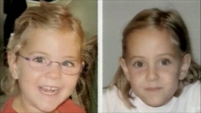 The missing twin girls