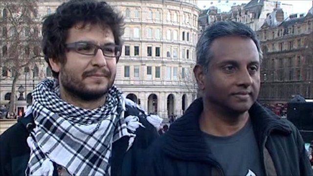 Sherif Fanselow (left) and Salil Shetty