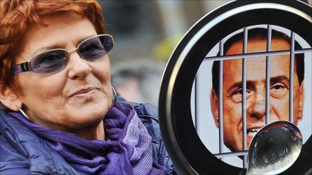 Protester in Italy