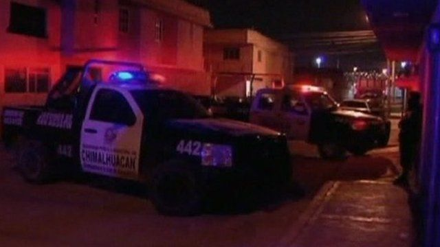 Police cars in Guadalajara