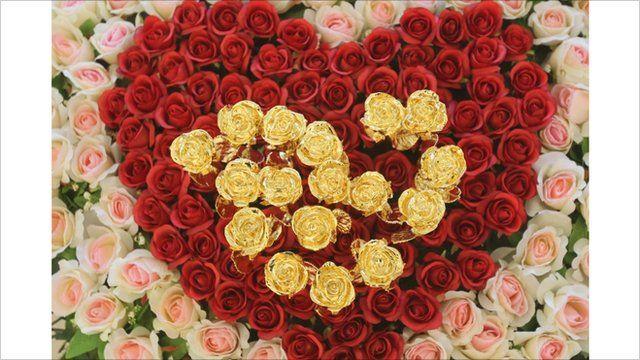 heart shaped flowers