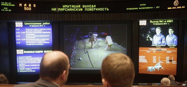 Moscow Mission Control