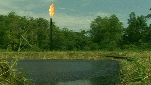 Ecuador oil drilling