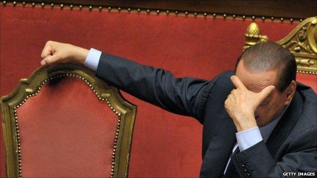 Silvio Berlusconi - file photo