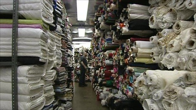 Stored textiles