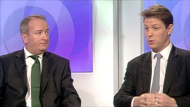 Mark Pritchard and Fraser Nelson
