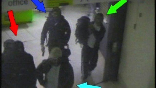 CCTV of bombers