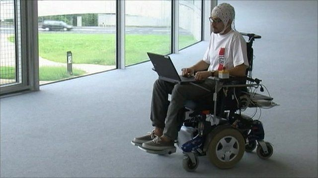 Prototype thought-controlled wheelchair