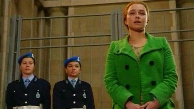 TV drama of character Amanda Knox
