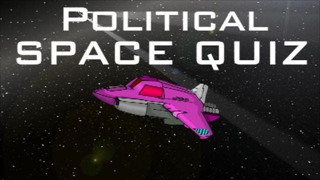 Political space quiz