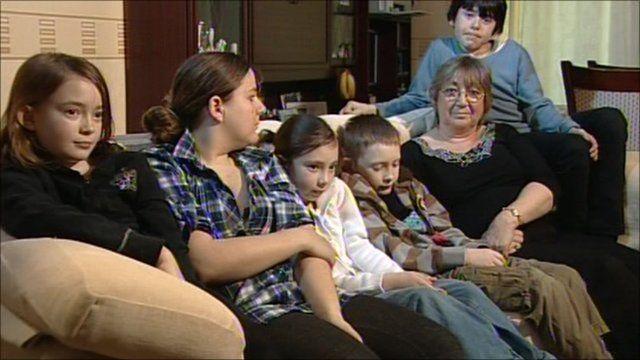 Jeni Stewart and family