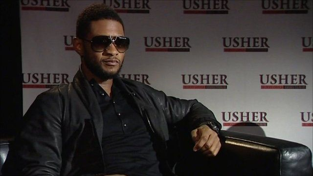 US RnB star Usher