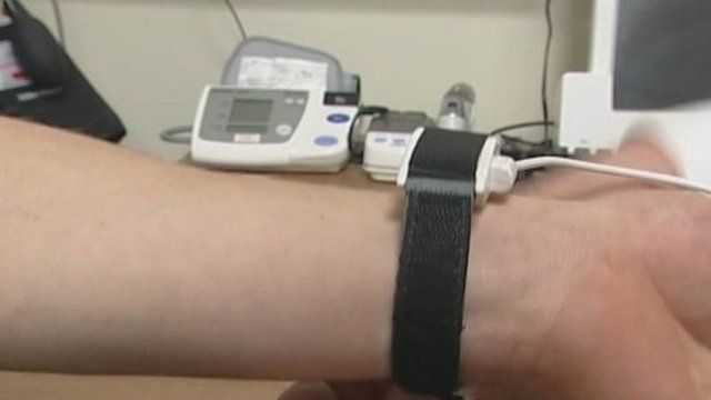 New blood pressure device