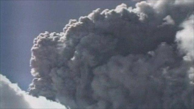 Ash cloud