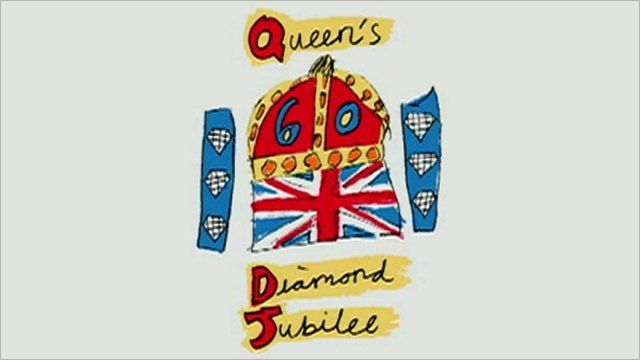 The Queen's official emblem to celebrate the Diamond Jubilee