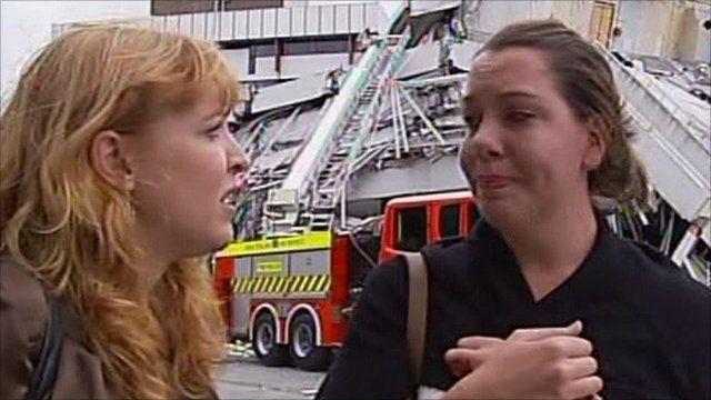 Christchurch earthquake survivors