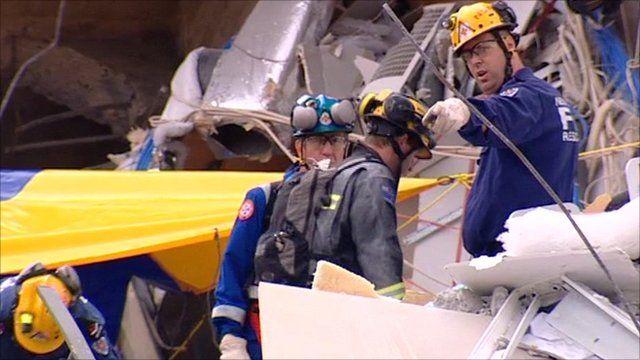 Christchurch rescuers