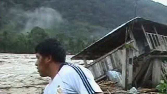 Floods in Bolivia