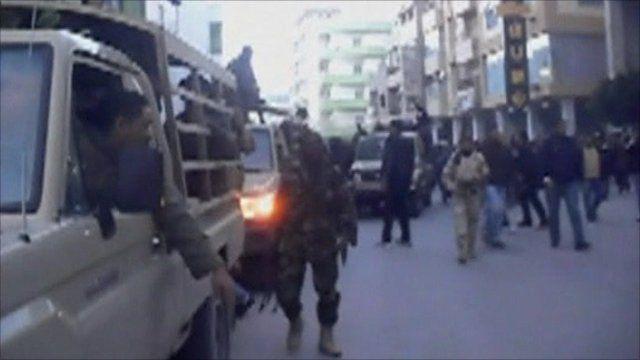 Street scene in Benghazi