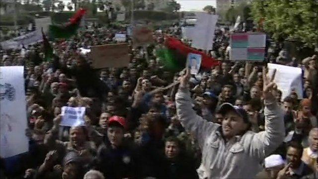 Rally in Zawiya