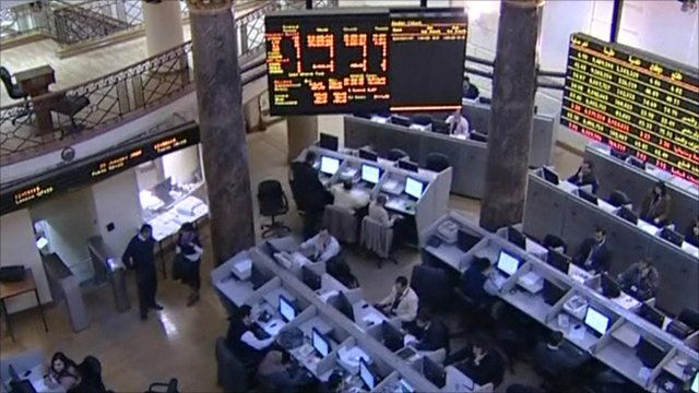 The Egyptian stock market