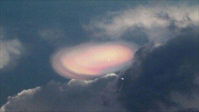 UFO spotted in Sri Lanka