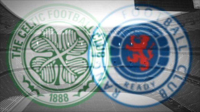 Glasgow Rangers and Celtic emblems