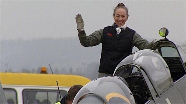 Carolyn Grace in Spitfire