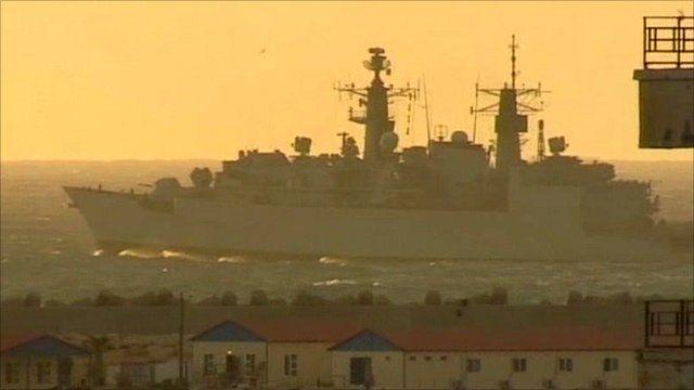 HMS Cumberland