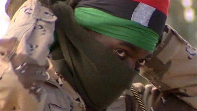 Supporter of Colonel Gaddafi