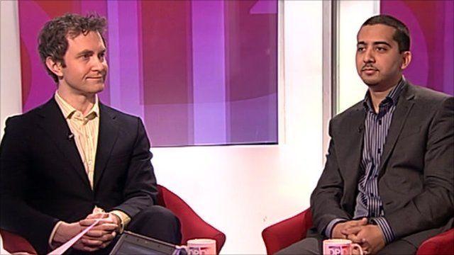 Douglas Murray and Mehdi Hasan