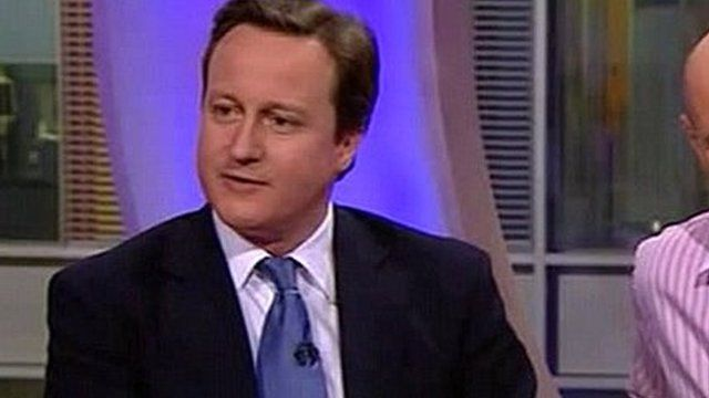 David Cameron talks rodents