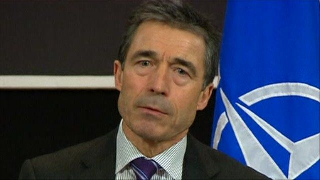 Nato Secretary General Fogh Rasmussen