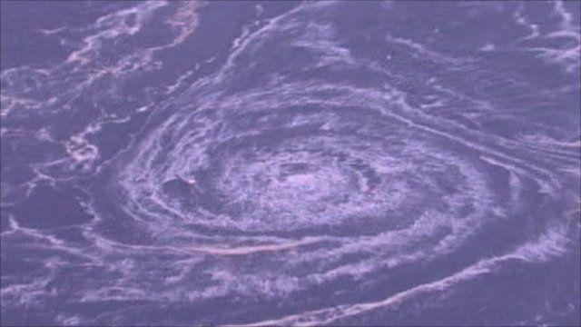The whirlpool off Japan's coast