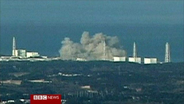 Nuclear plant explosion