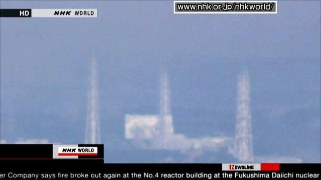 Earthquake-hit reactor