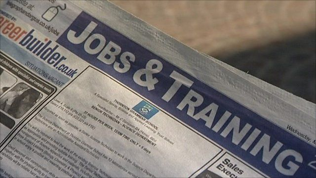 Getting a job from a newspaper advert