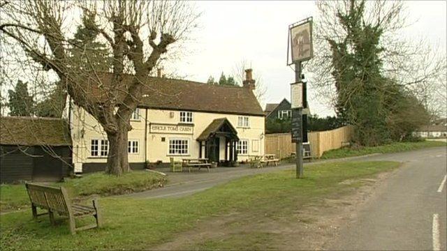 A local pub in Cookham Dean