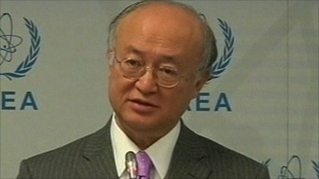 Head of the International Atomic Energy Agency, Yukiya Amano