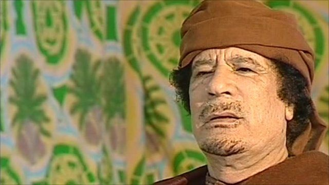 Col Gaddafi