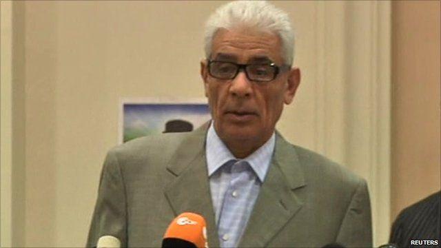 Libya's Foreign Minister Mussa Kussa