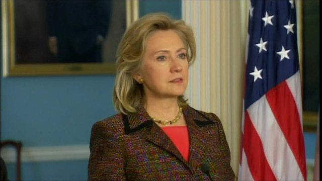 US Secretary of State Hilary Clinton