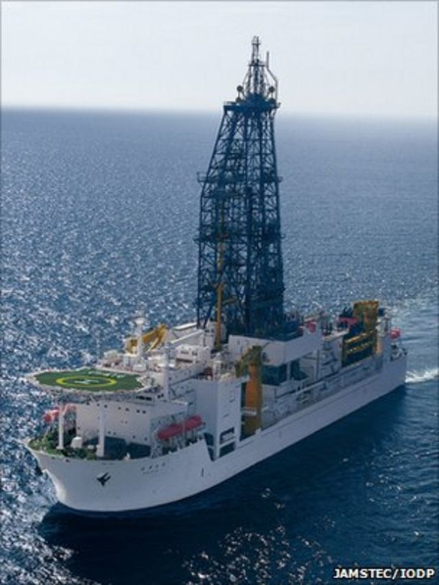 Microbes discovered by deepest marine drill analysed
