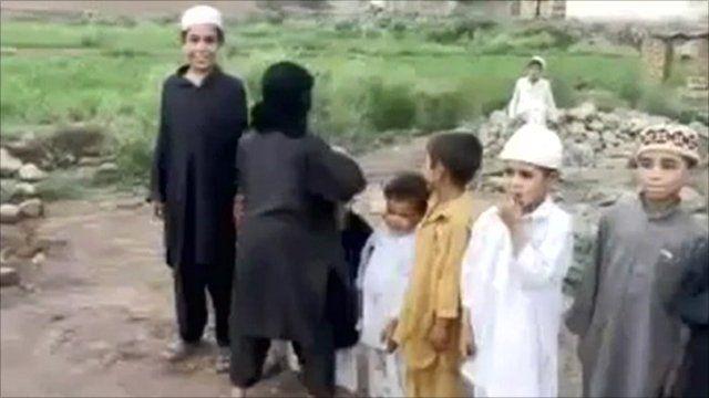 Children in Pakistan video