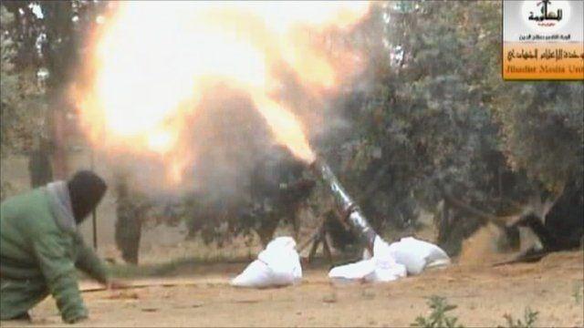 Palestinian militants fire rockets