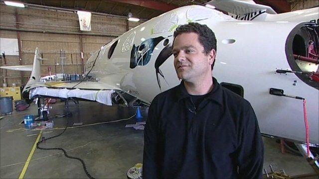 Test pilot Peter Siebold