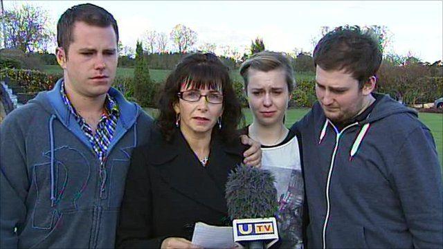 Nuala Kerr and family