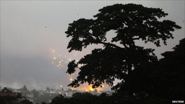 Bombing in Abidjan